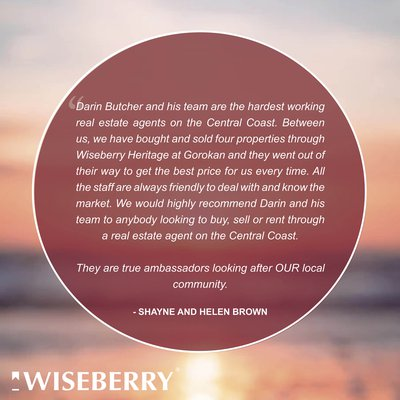 """Once a Wiseberry client, always a Wiseberry client..."""