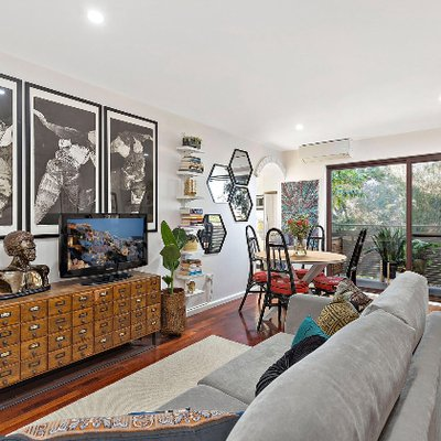 """""""Just Listed: An eclectic modernised 2 Bed l 1 Bath I 1 Car apartment in Marrickville. Contact Rebekah Pham on 0402 741 280 for more information."""""""