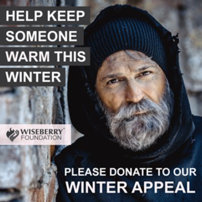 """""""In Australia, over 116,000 people are homeless. Wiseberry Enmore is seeking donations this month for the homeless via Newtown Mission, to cope with th"""""""