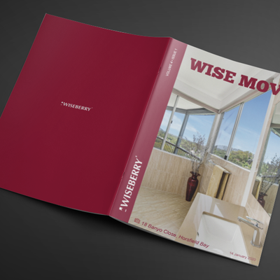 """Thinking about making a move in 2020? Find your dream home in the latest issue of Wise Move, out now! \ud83c\udfe1\u2728Visit: wiseberry.com.au\/wisemove"""