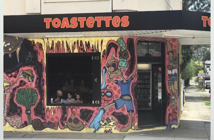 """One of our tenants opened up their eat in\/ take away shop last week.  Toastettes of 120 Stanmore Rd, Stanmore will be famous for their savoury and swe"""