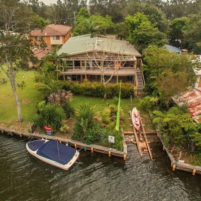 """Another amazing Central Coast waterfront! This home has such a warm, relaxing feel and is one of the most unique properties Wiseberry have ever brough"""