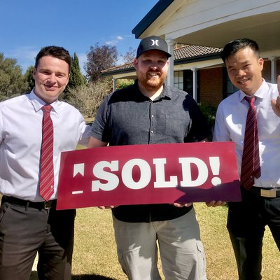 """Luke is delighted with the sale price we got for his property in Bradbury, the sales team even managed to get his furniture sold to the purchasers so """