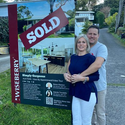 """Sold 86A Taiyul Road North Narrabeen <br \/>Congratulations to our wonderful vendors Keri & Greg!"""