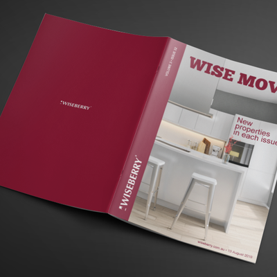 """""""The latest issue of Wise Move is out now! You don't want to miss these properties... \ud83d\ude0dVisit: www.wiseberry.com.au\/wisemove"""""""