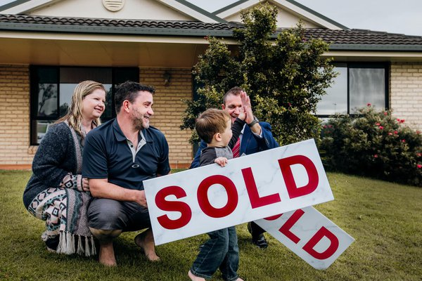 #SOLD - High fives all round for an awesome weekend and great result for this little family!