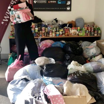 """We cannot thank the community enough for their incredible generosity this Winter Appeal! On final count we collected 95 bags totalling OVER 400kg's of"""