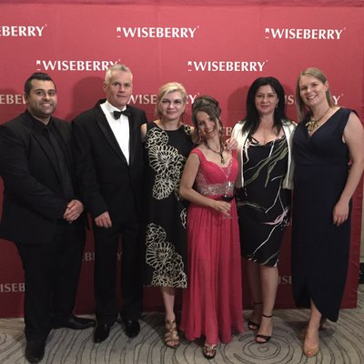 """""""With over 700 entries, we are pleased to be finalists in four categories at this year\u2019s Wiseberry Awards night. To receive recognition from your pee"""""""