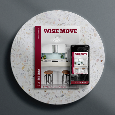 """""""The latest issue of Wise Move is out now! \ud83c\udfe0\ud83d\udc95 Visit:\u00a0wiseberry.com.au\/wisemove"""""""