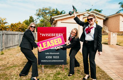 """A RECORD-BREAKING month of leased properties! Could our area be an investment hotspot?? Contact us to find out more 4358 1633."""