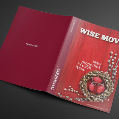 """""""The week's issue of Wise Move is out now. Check out what's on in your area these Easter holidays at wiseberry.com.au\/wisemove \ud83c\udfe1\ud83d\udc30"""""""