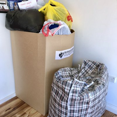 """An ENORMOUS thank you to our community! Together, the Campbelltown region has donated 17 bags of items or a huge 85kg towards We Are Macarthur Inc for"""