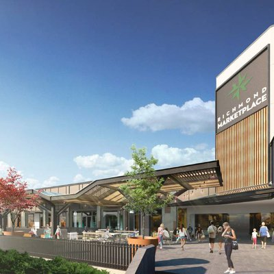 """""""WHAT'S HAPPENING AT THE RICHMOND MARKET PLACE? Stage 2 of the $11 million \u2018facelift\u2019 has started and we will be seeing a huge difference to all co"""""""