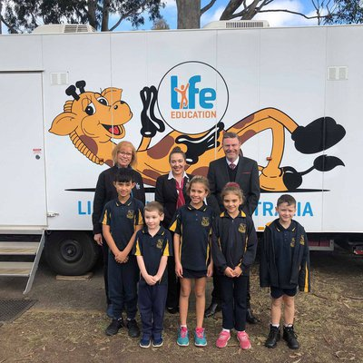 """We absolutely love being PROUD SPONSORS of the Life Education program at Windsor South Public School!"""