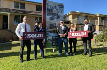 """Mark's home is SOLD and he's ready for the move down to Goulburn!"""