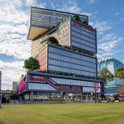 """Check out this amazing building! Located in the heart of Bankstown CBD, Western Sydney University reveals concept design for high-rise campus.<br \/>Se"""