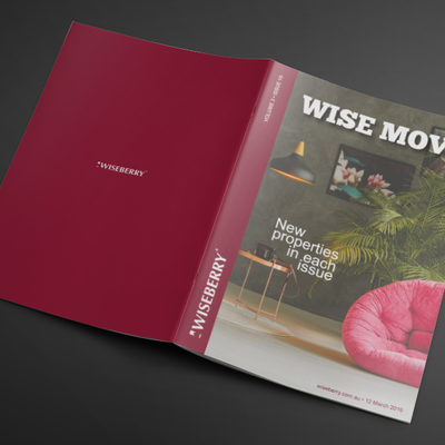 """Find your dream home in the latest issue of Wise Move out now: wiseberry.com.au\/wisemove \ud83c\udfe1\u2728"""
