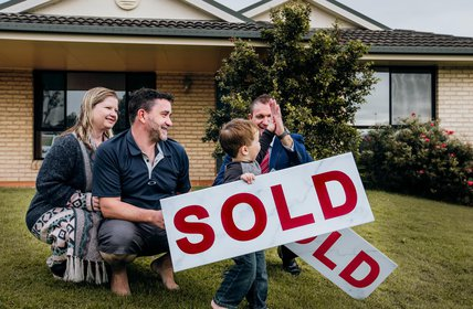 """#SOLD - High fives all round for an awesome weekend and great result for this little family!"""