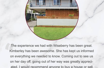 """"""\""""The experience we had with Wiseberry has been great""""""""""428|280|?|en|2|c13f767e22c9f999952cdd258666ab7c|False|UNLIKELY|0.37650081515312195