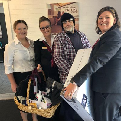 """Kindness trumps everything! Many tears in the Lake Munmorah office today after coming together as a team to help our tenant Niel with two weeks rent, """