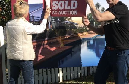"""HEART and SOLD... Elizabeth had her heart set on getting her property sold for the top price and Wiseberry Rouse Hill - DELIVERED! Congratulations Eli"""
