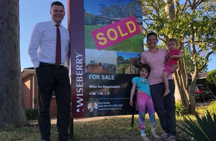 """""""Bringing dreams to life for some happy first home buyers! Congratulations to Jess, Kaitlen and family."""""""