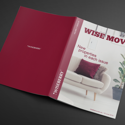 """""""Searching for a new home to warm up in this winter? Look no further than the latest issue of Wise Move, out now! Visit: www.wiseberry.com.au\/wisemove"""""""