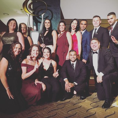 """""""Our team are absolutely honoured to have been awarded \""""Australia's Best Real Estate\"""" at the Small Business Champion Awards. Our leader Darin Butcher s"""""""