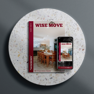 """The latest issue of Wise Move is out now! \ud83c\udfe0\ud83d\udc95Visit: wiseberry.com.au\/wisemove"""
