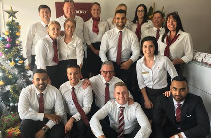 """Our friendly staff from Tumbi Umbi, The Entrance and Berkeley Vale ready to finish the year with a bang and prepare for a massive 2018!"""