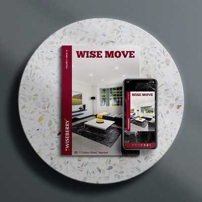 """""""The latest issue of Wise Move is out now! \ud83c\udfe0\ud83d\udc95Visit: wiseberry.com.au\/wisemove"""""""