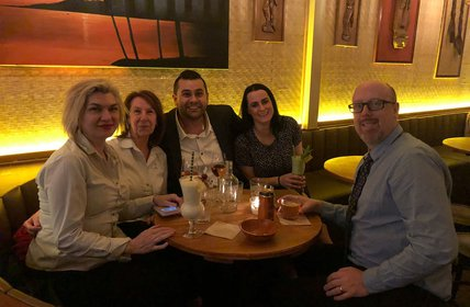 """Great team, great food & great drinks. All in all a great night out!"""