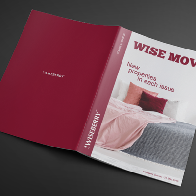 """""""This week's issue of Wise Move is out now! \ud83c\udfe0Visit: wiseberry.com.au\/wisemove"""""""