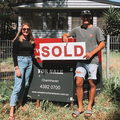 """""""#SOLD - Congrats to these two first home buyers! We wish them all the best with their new adventure. \ud83c\udfe1\ud83d\udd11<br \/>Buying your first home can be daunt"""""""