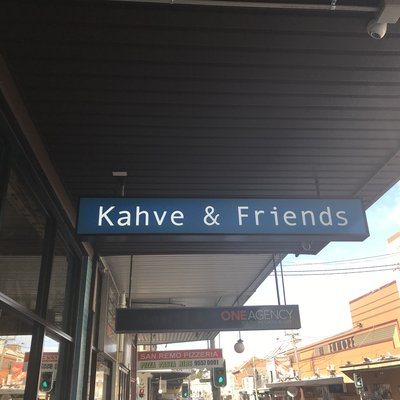 """""""Kahve & Friends, a new Turkish restaurant open with assortment of brunch and dinner selections at 121 Enmore Road. Kahve  means coffee in Turkish. So """""""