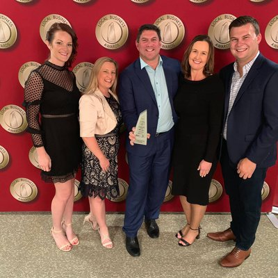 """Huge thank you to the community for your nomination and support, and congratulations to our team for winning\u00a0Best Real Estate Agency on the Central C"""
