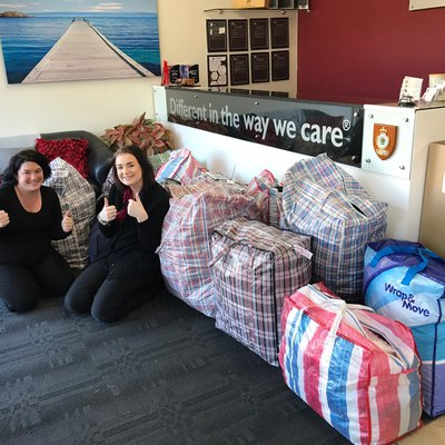 """""""What a fantastic donation! We are so thankful for the kind hearted people who have dropped in this massive donation \ud83d\udc95"""""""