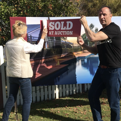 """""""HEART and SOLD... Elizabeth had her heart set on getting her property sold for the top price and Wiseberry Rouse Hill - DELIVERED! Congratulations Eli"""""""