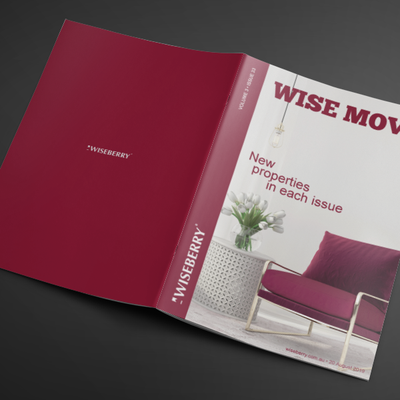 """""""This week's issue of Wise Move is out now! From luxury apartments to cosy family homes, we've got you covered. Visit: www.wiseberry.com.au\/wisemove"""""""