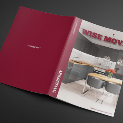 """Start your week off by finding your dream home in the latest issue of Wise Move out now at wiseberry.com.au\/wisemove"""