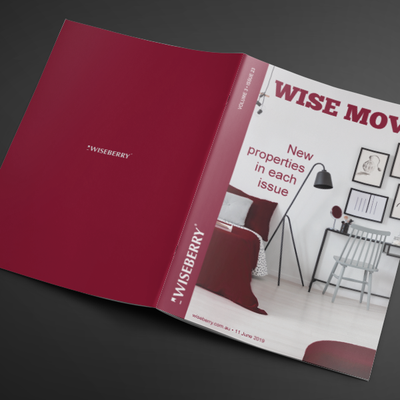 """""""This week's issue of Wise Move is out now! Visit: wiseberry.com.au\/wisemove"""""""