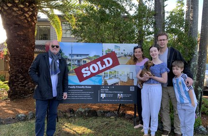 """""""Happy Vendors at 21 Whitney Street, Mona Vale. Sold after the 2nd Open Home!"""""""