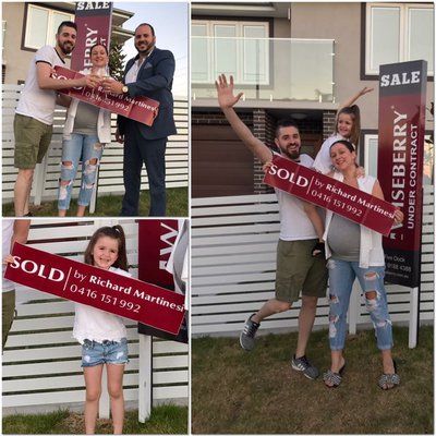 """This is what we love about Real Estate, plenty of memories and joy to come. <br \/>Congratulations!! \ud83d\udc68\u200d\ud83d\udc69\u200d\ud83d\udc67\ud83c\udfe1"""
