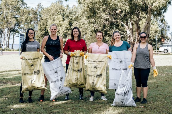 🇦🇺♻ Clean Up Australia Day ♻🇦🇺<br />Our team ditched the uniforms last week to help do our part in cleaning up Charmhaven and Toukley!