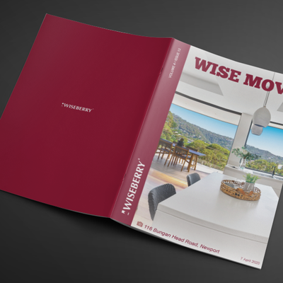 """""""Find your dream home or investment in the latest issue of Wise Move, out now! \ud83c\udfe1\u2728Visit: wiseberry.com.au\/wisemove"""""""