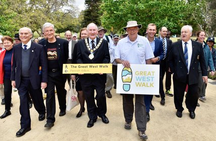 """""""The Great West Walk is NOW OPEN. A new 65 kilometre walking trail has opened in Western Sydney, showcasing some of the region\u2019s most vibrant cultura"""""""